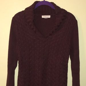 Sweater v neck size small